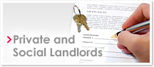 Private and Social Landlords